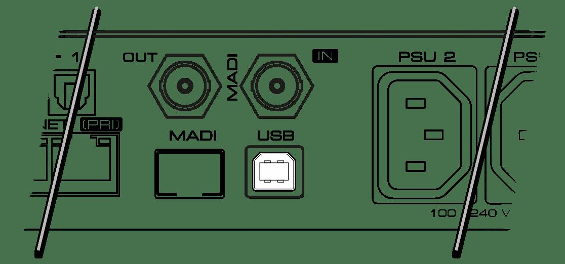 USB 2.0 Type B Jack :: RME Manuals