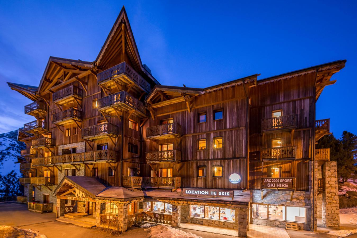 Chalet de lOurs 20 Les Arcs location vacances ski Les Arcs  SkiPlanet