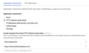 r google maps api key