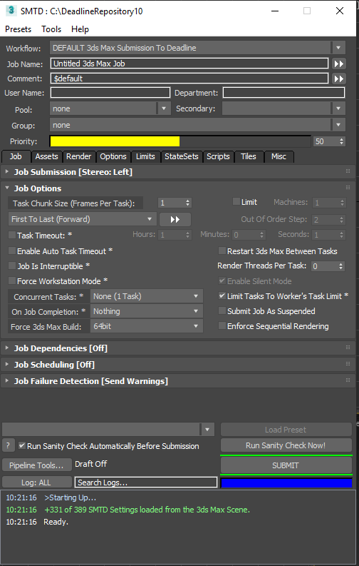 Vray 3ds Max 2015 : Deadline, 10.1.14.5, Documentation