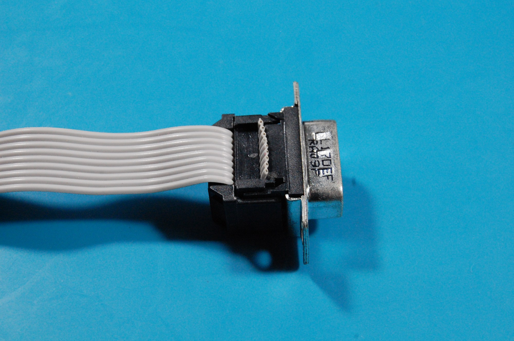 hight resolution of crimped idc to db9 connector