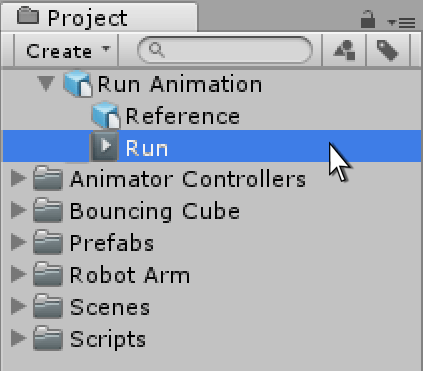 unity manual animation from