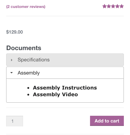 WooCommerce Product Documents Video URL