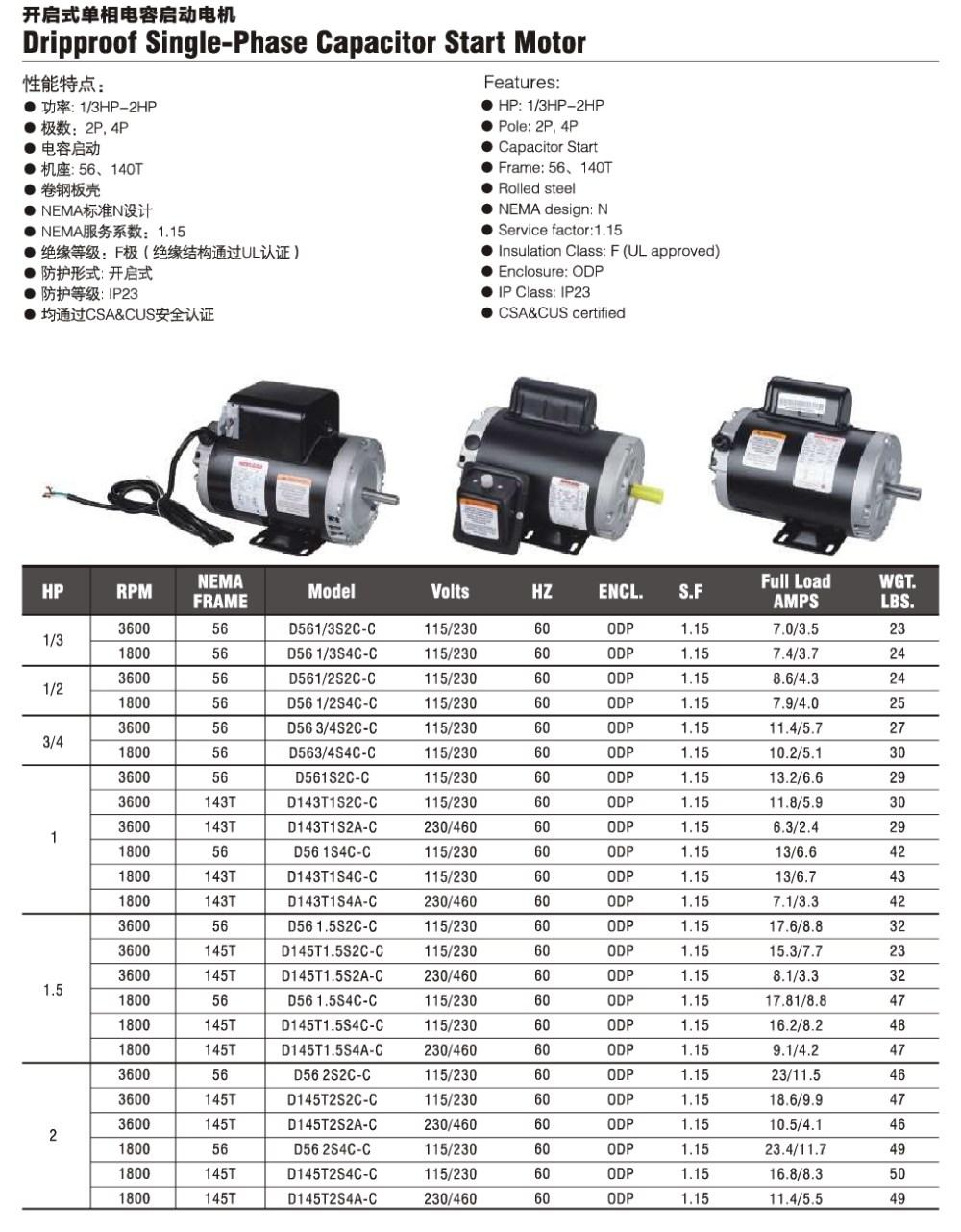medium resolution of single phase capacitor start motor wiring