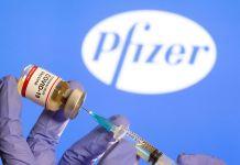 Estudio sugiere espaciar más las dosis de la vacuna de Pfizer contra el Covid-19. (Foto Reuters)