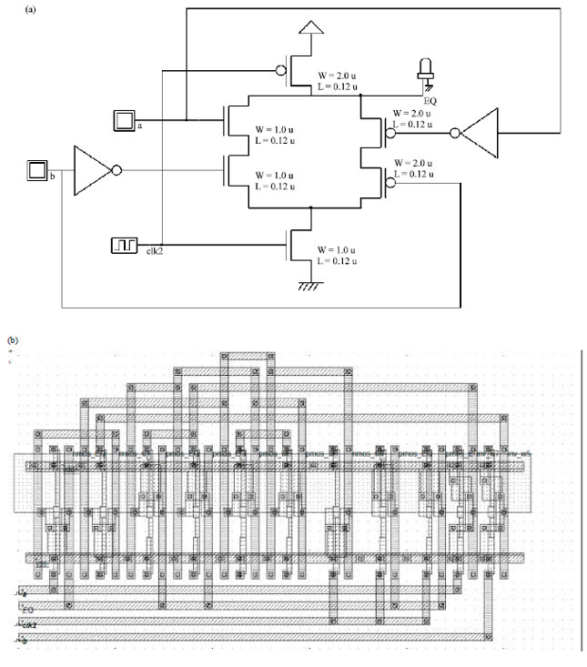 CMOS VLSI Design of Low Power Comparator Logic Circuits