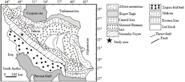 Petrography and Mineral Chemistry of the Boroujerd Pluton
