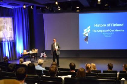 one of the keynote speakers