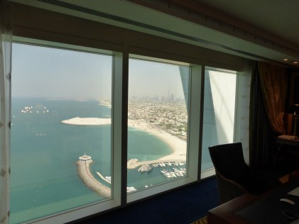 One of the views out of suite