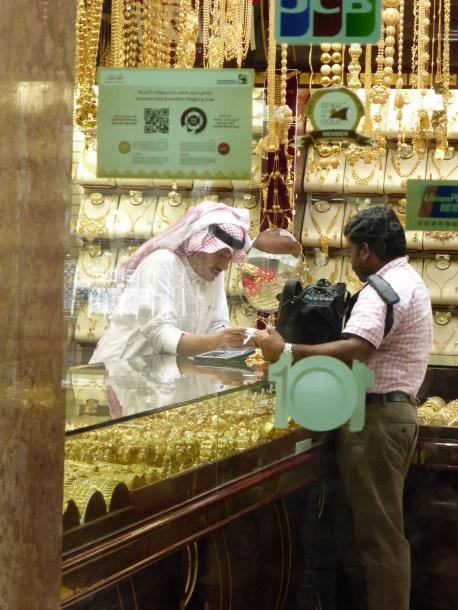 Peeking into a souk (shop)