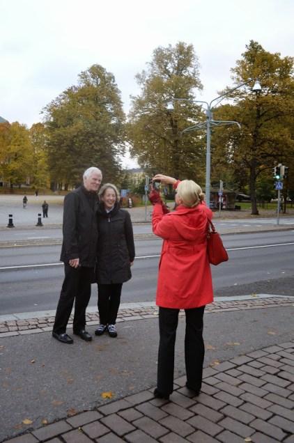 Deb and John at Turku
