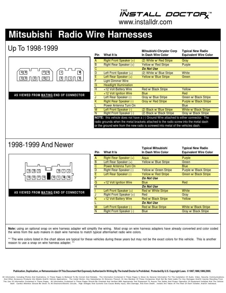 Mitsubishi Wiring DocShare Tips