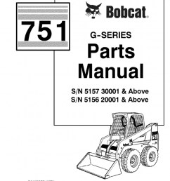 pdf bobcat 751 parts manual sn 515730001 and above sn 515620001 and above docshare  [ 768 x 1024 Pixel ]