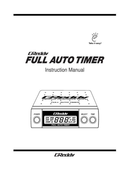 small resolution of greddy turbo timer manual 57620259b6d87fd2a78b49ae jpg