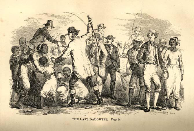 immagine di schiavitù del 1700