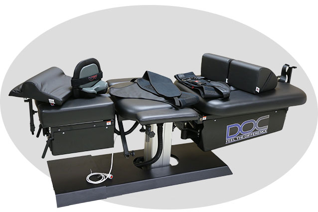 spinal decompression chair wood lounge plans doc cervical lumbar table