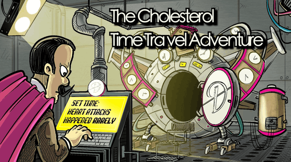 The Cholesterol Time Travel Adventure