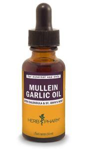 Herb Pharm Mullein Garlic Herbal Oil