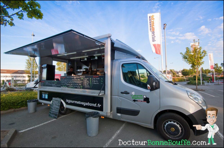 Le Gourmet Vagabong Food Truck Burgers Rennes Saint Malo