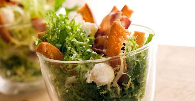 Salades d'étés - Recette de salade lyonnaise revisitée