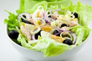 Salades d'etes - Recette de salade nicoise traditionnelle