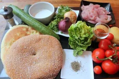 recette kebab diététique