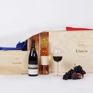 caissin start up cadeau vin durable