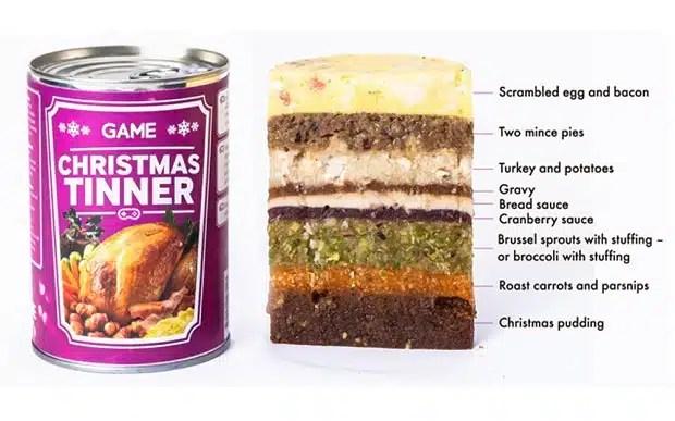 Christmas tinner, le repas de noel en conserve pour les geeks