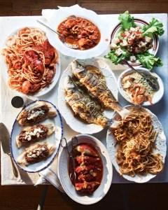 repas de noel typique italie sept poissons