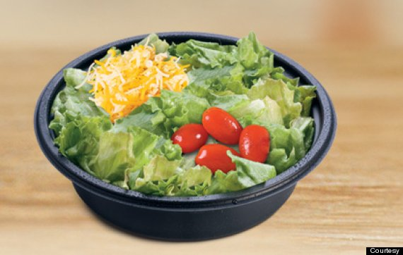 La verité sur les salades des fast foods
