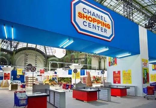 Le supermarche Chanel de Karl Lagerfeld