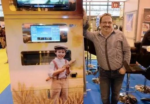 Pani Vending, le distributeur de baguettes automatise, gagnant du prix Lepine 2014