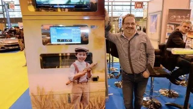 Pani Vending, le distributeur de baguettes automatisé, gagnant du prix Lépine 2014