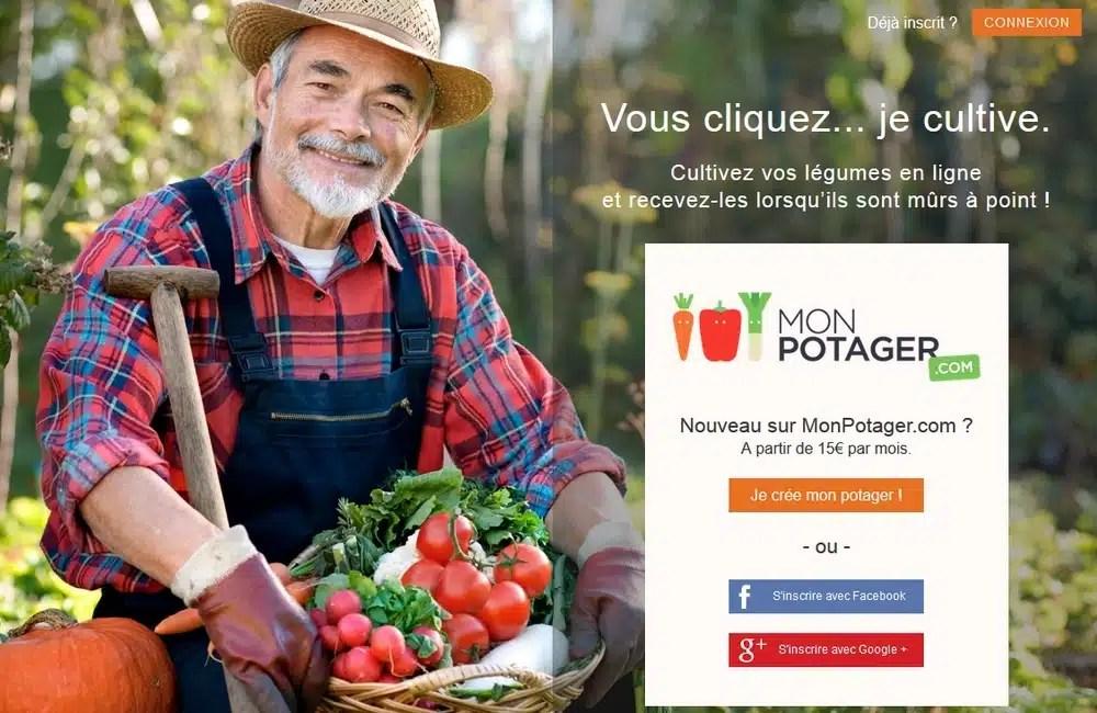 MonPotager.com: le premier concept de potager a distance