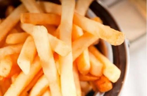 frites alimentation santé