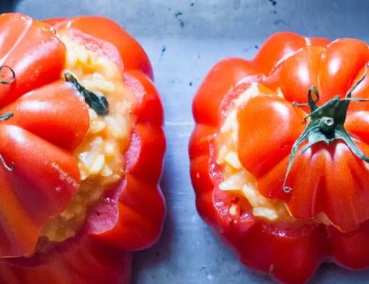 Defi culinaire #5: concocter un menu entierement a base de tomates!