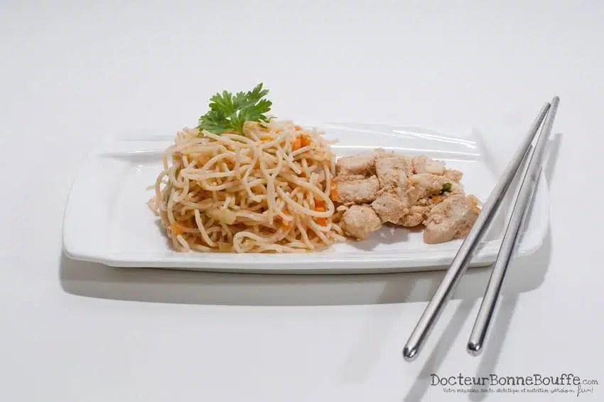 A la découverte de Les Petites Casseroles - par DocteurBonneBouffe: Salade thai