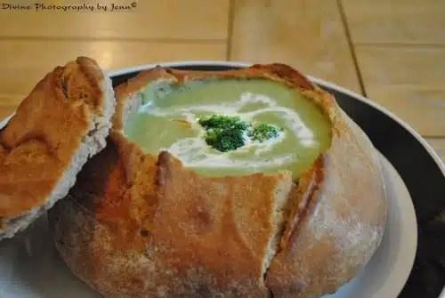 bol en pain brocoli