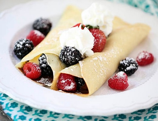 recette crepes allegees legeres