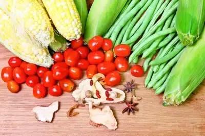 alimentation végétarienne légumes