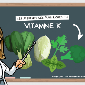 aliments riches en vitamine K
