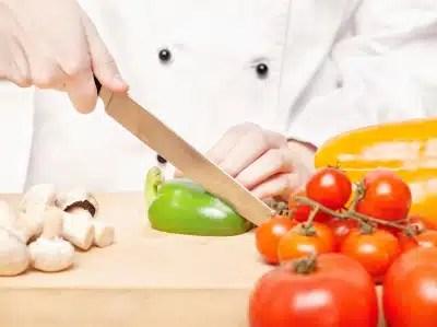cuisine chef alimentation poivrons légumes