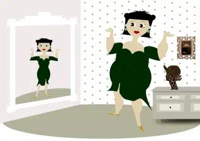 Déformation et troubles comportements alimentaires anorexie