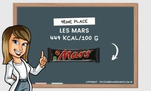 mars calories