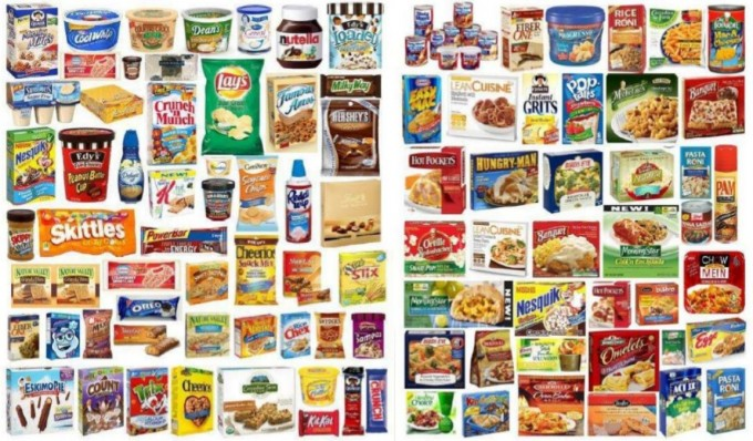 Liste aliments contenant de l'huile de palme