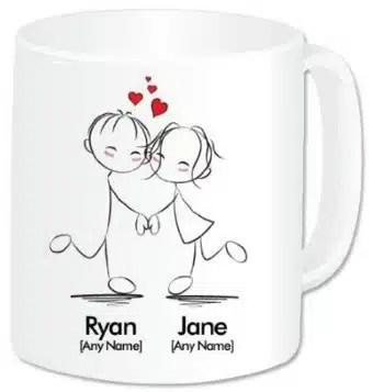 mug personnalisable idées cadeaux saint valentin