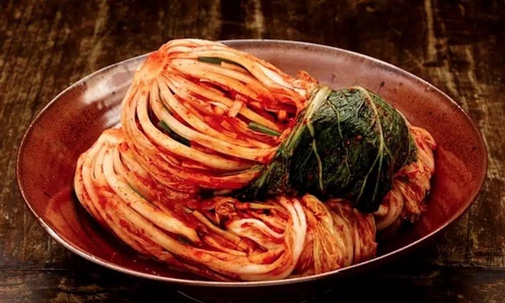 kimchi plat coreen