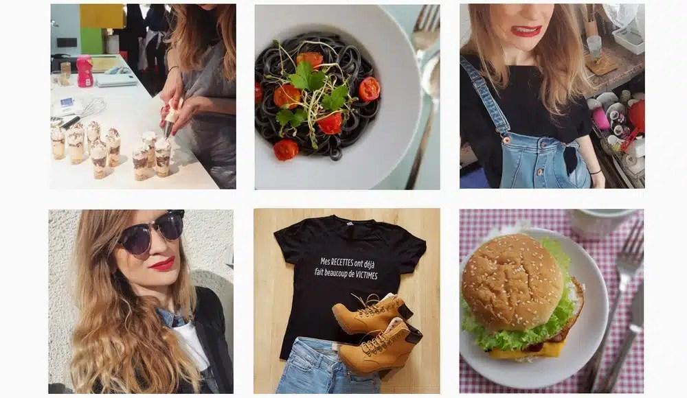 instagrameuse food blogueuse cuisine et nutrition