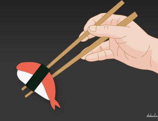 Les risques de la consommation de sushis