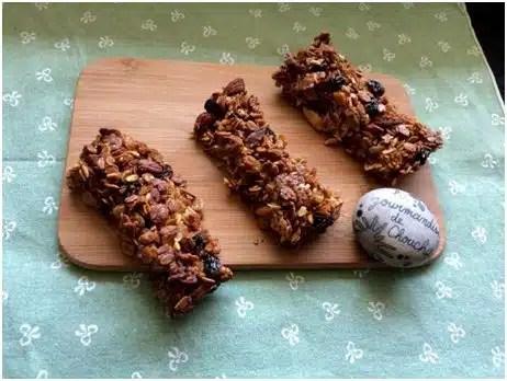 Barre aux Céréales Amandes et Raisins